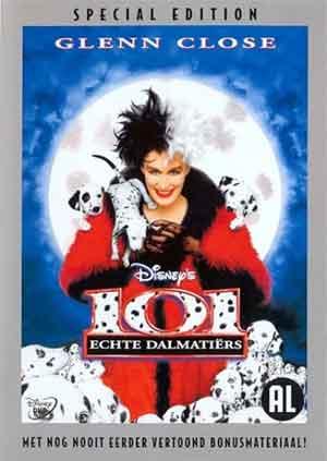 101 Echte Dalmatiers Honden Film uit 1996